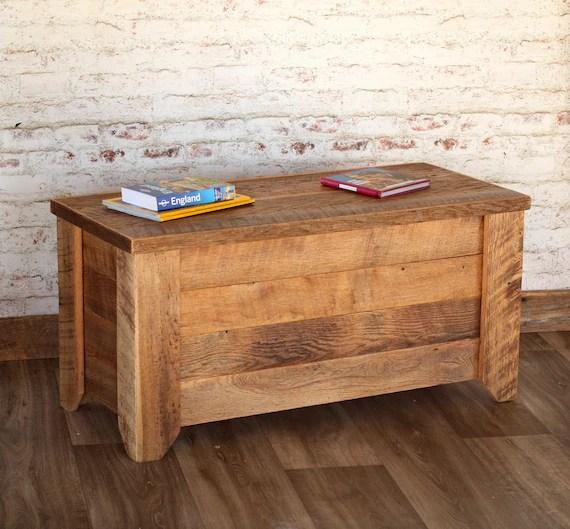 table basse avec rangement coffre hope meubles de salon meubles en bois recuperes coffre de couverture salon rustique ferme