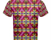 Flying Rainbow Lasagne cotton t-shirt