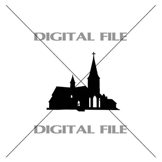 Download Church Vector Images Vinyl Decal T-shirt Digital Cutting ...
