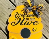 Welcome to our Hive Vinyl Decal