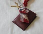 Upcycled  Keychain Pocket...