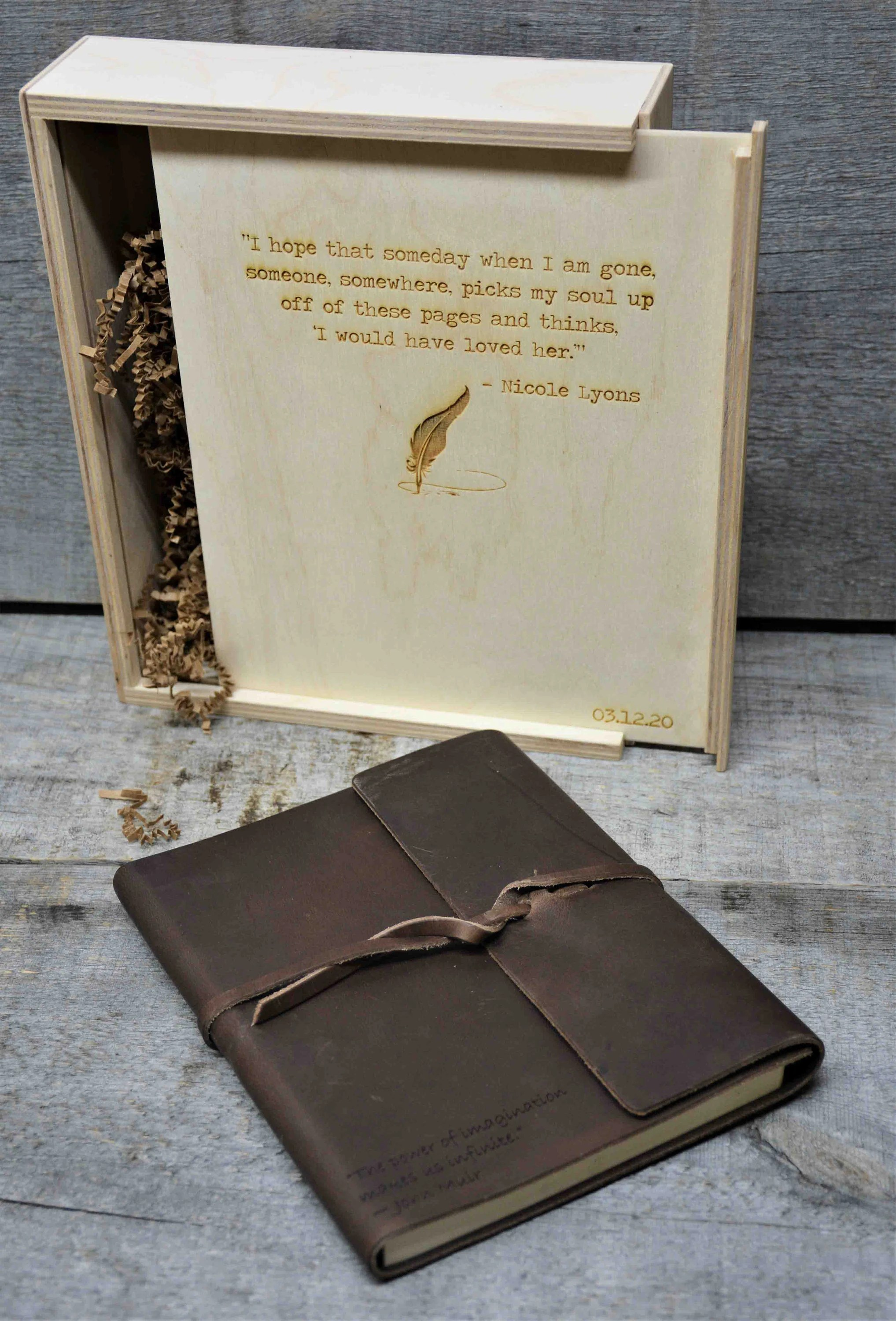 Premium Leather Journal Personalized Custom Engraved image 6