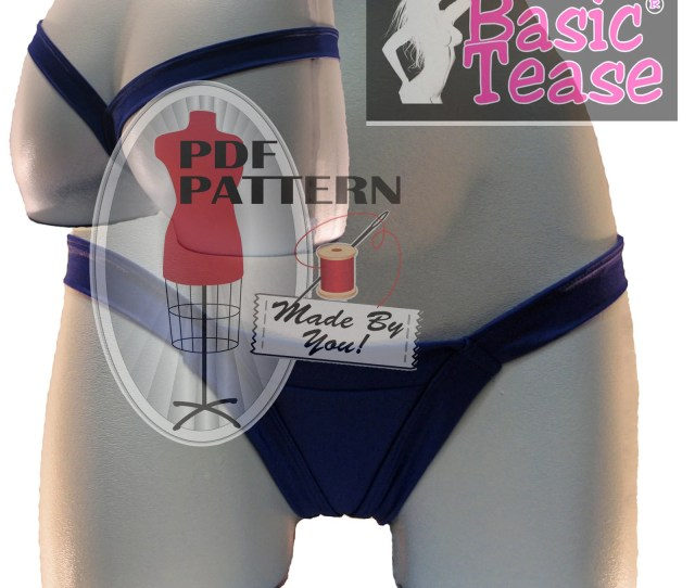 Comfort Thong Pdf Stripper Sewing Pattern You Tube Video Tutorial For Step By Step Instructions Make And Sell Your Own Stripper Thongs