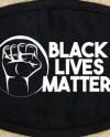 Black Lives Matter Blm Face Mask I Can T Breathe Etsy