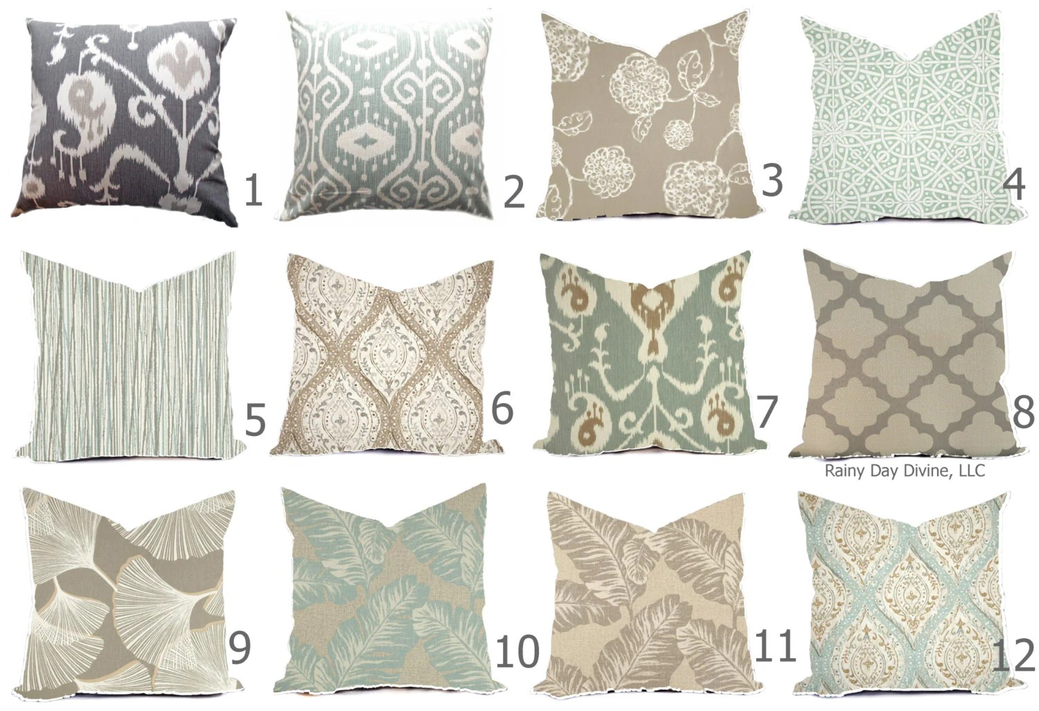 pillow cover throw accent pillow spa