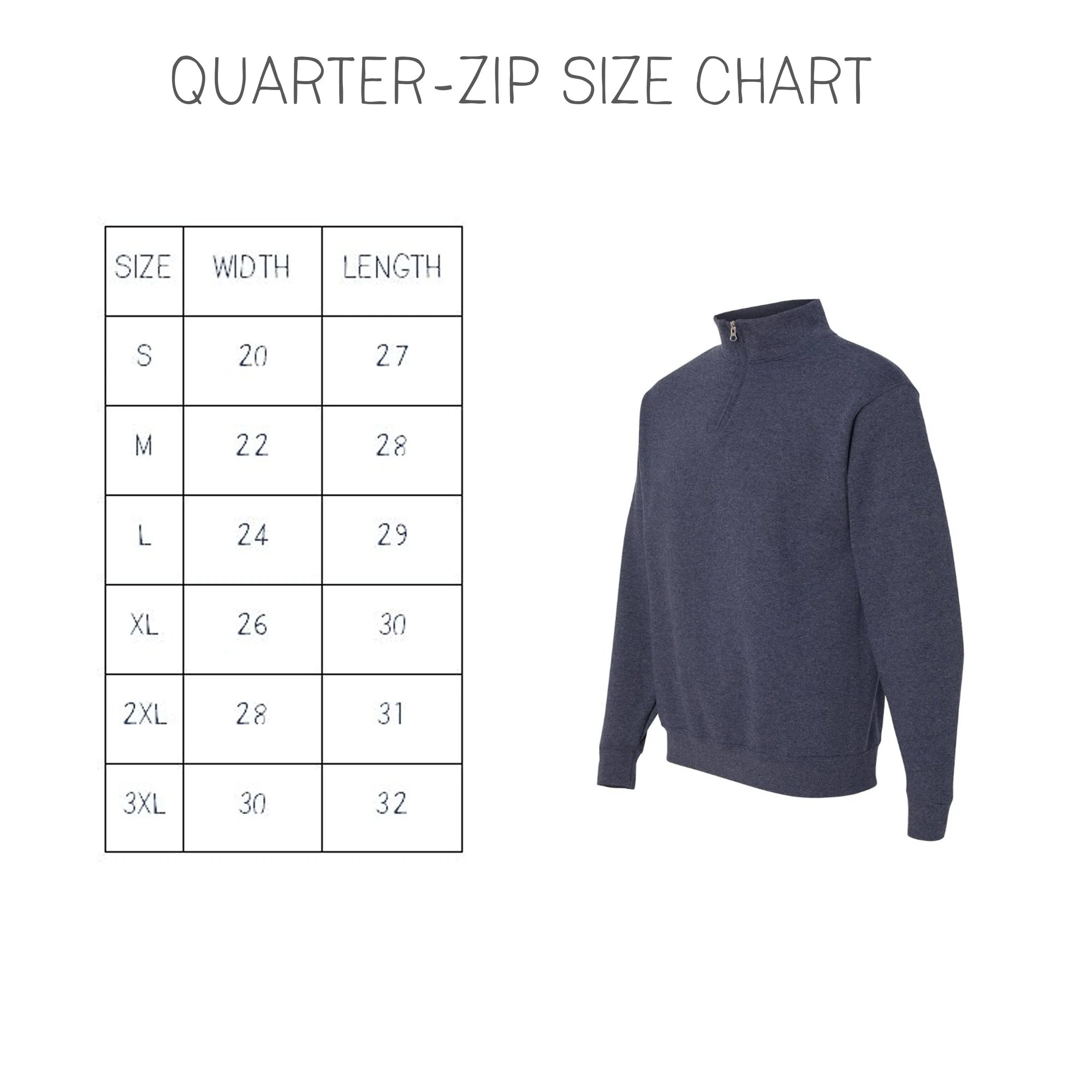 FREE Shipping  Monogram Pullover  Personalized Quarter Zip image 5