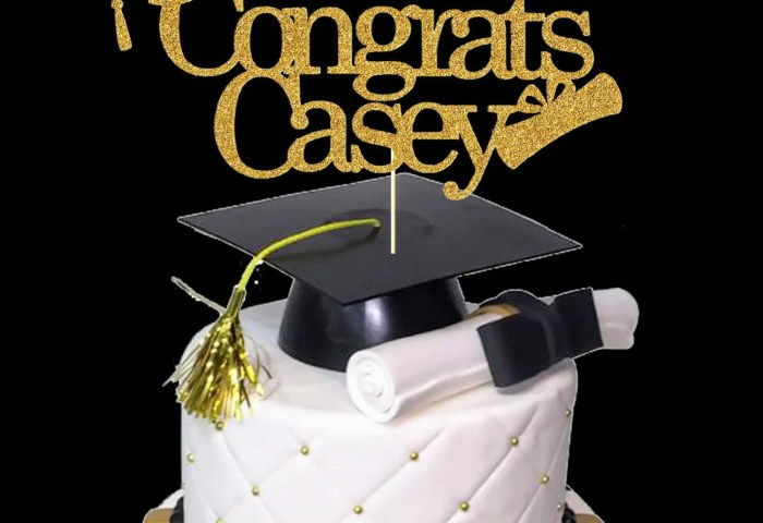 Congrats Cake Toppergraduation Cake Topperclass Of 2018 Cake Etsy