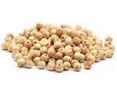 Pack of 200 Round Natural Wood Beads. 8mm Pine Stripe Wooden Spacers.