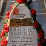 Vintage 1979 Churchill Downs Decanter Aesthetic Classics