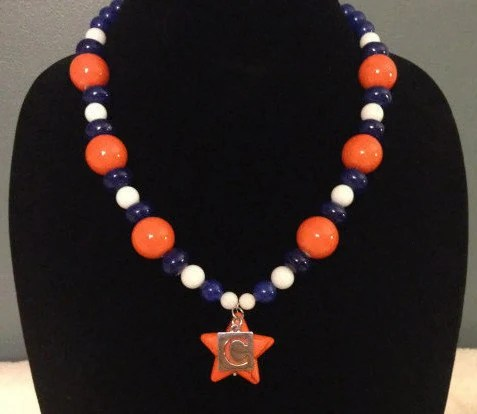 Custom Sports Team Necklace *FREE SHIPPING*