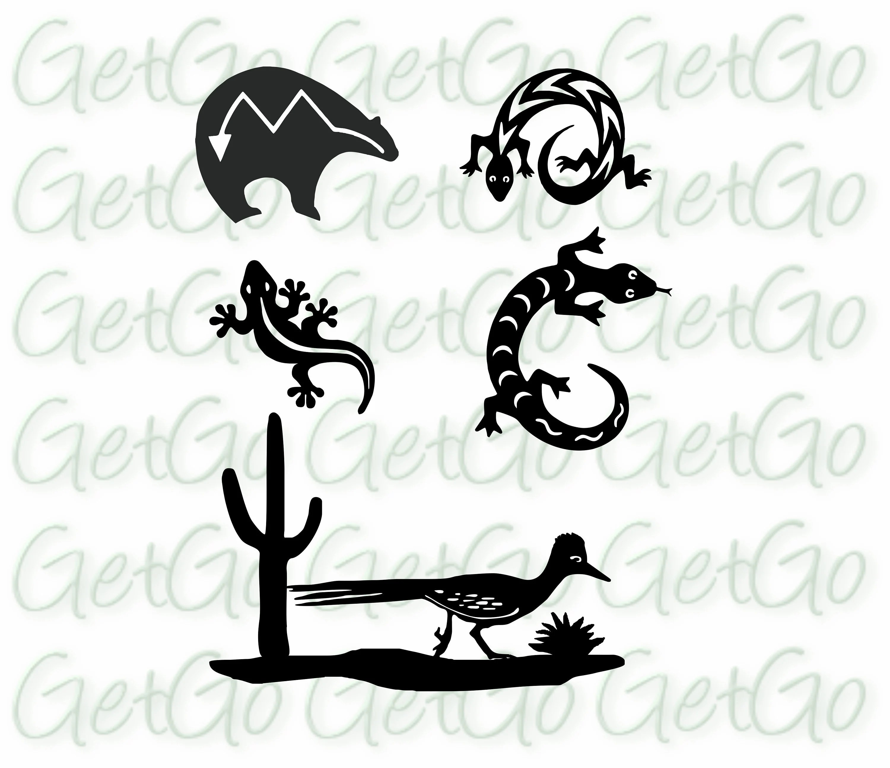 Southwestern Images Clipart Cricut Silhouette Cutting