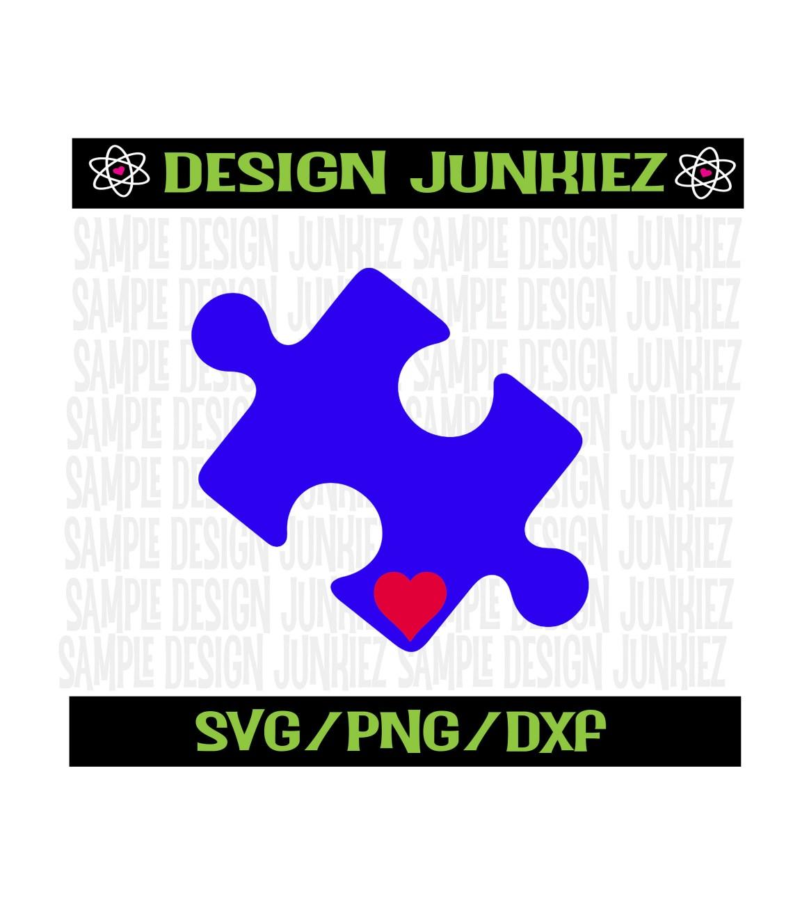 Download Autism Awareness ASD puzzle piece SVG PNG Cut FIle   Etsy
