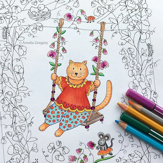 sweet pea coloring pages # 57