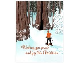 Snowshoe Christmas Card image 0
