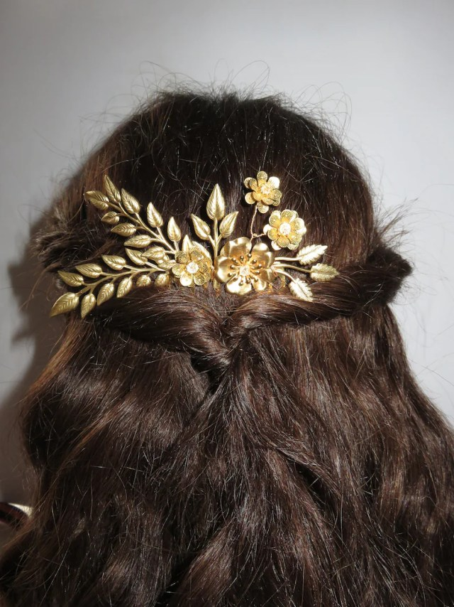 "jewelry-wedding hair comb for wedding or any other ceremony ""salome"""