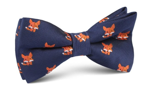 Men's North American Kit Fox Bow Tie M238-BT Bowtie | Etsy