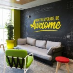 Be Awesome Wall Decal Office Wall Art Office Decor Office Wall Decal Office Wall Decor Awesome Decal Office Decals Motivational Art