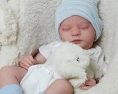CUSTOM ORDER Reborn Doll Baby Girl or boy Realborn®Evelyn 19 inches Full limbs You Choose All Details Layaway Available!