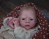 "Custom Reborn Babies - Limited Edition Kailyn by Petra Lechner 18"" 3/4 Limbs"