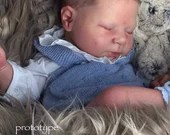 CUSTOM MADE Reborn Doll Baby Girl or boy Luciano by Cassie Brace 20 Inches 5-7 lbs (Reborn Babies)