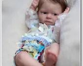 Reborn Babies - Custom Reborn Baby - Tom By Iveta Eckertova 20 inches 3/4 Limbs 5-7 pounds Custom Reborn Baby Doll. Vinyl.