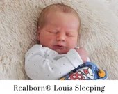 CuStOm Realborn® Louis Asleep (18 Inches + Full Limbs) *Requires Longer Processing Time.