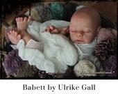 "CuStOm ReBoRn Babett by Ulrike Gall (16""+3/4 Limbs)"