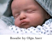 "CuStOm ReBoRn Rosalie By Olga Auer (20""+Full Limbs)"