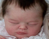 Reborn Babies - Custom Reborn Baby - LE Bellami by Samantha Gregory 19 inches Full limbs 5-7 lbs.Custom Reborn Baby Doll. Vinyl.