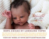 CuStOm FuLL BoDy ViNyL Hope Awake by Lorraine Yophi (GIRL ONLY)