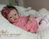 CUSTOM ORDER Reborn Doll Baby Girl or boy Aoife by Phil Donnelly 21 inches  3/4 Arms, Full Legs (Reborn Babies)