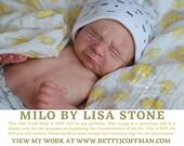 """CuStOm ReBoRn PREEMIE Milo by Lisa Stone (16""""+Full Limbs)"""