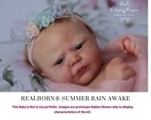 "CuStOm ReBoRn Realborn® Summer Rain Awake (18""+Full Limbs)"