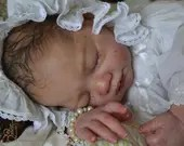 FREE Baby w/ Diamond Package - Custom Reborn Babies - Sarah by Antonio Sanchis Full Limbs  20 Inches 4-6 lbs