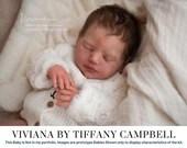 "FREE Bonus Baby!  **Read Item Details** CuStOm ReBoRn BaBy Viviana By Tiffany Campbell (20""+Full Limbs)"