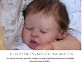 """CuStOm ReBoRn Etta By Sienna Kuhlstrom Ahlgren (19""""+Full Limbs)"""