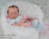 CUSTOM ORDER Reborn Doll Baby Girl or boy LE Elea By Heike Kolpin 19 inches Full Limbs. 5-7 lbs. (Reborn Babies)