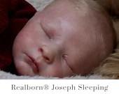 CuStOm Realborn® Joseph Sleeping (18 Inches + Full Limbs) *Requires Longer Processing Time.