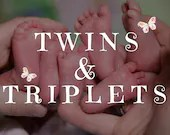 Custom Reborn Babies - Twins or Triplets with PLATINUM Coming Home Package! You choose kits & design the babies.  BabySoft Vinyl + Cloth bod