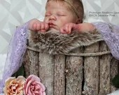 CUSTOM ORDER Reborn Doll Baby Girl or boy Realborn® Lavender Sleeping 19 inches Full Limbs 6-8 lbs You Choose All Details Layaway Available!