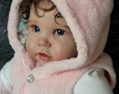 FREE Baby w/ Diamond Package - Custom Reborn Babies - Enie by Didy Jacobsen 24 inches Full Limbs 5-7 lbs
