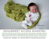 """CuStOm ReBoRn Realborn® Alyssa Sleeping (18""""+Full Limbs)"""