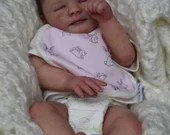 SPECIAL OFFER! Buy One Get One 25% Off! Custom Reborn Babies - Annaliese By Dawn McLeod 13 inches  2-4 lbs 3/4 arms & full legs