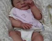 Order Today For FREE Bonus Preemie! Custom Reborn Babies - Annaliese By Dawn McLeod 13 inches  2-4 lbs 3/4 arms & full legs