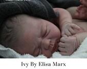 """CuStOm ReBoRn Ivy by Elisa Marx 18"""" 5-7 lbs"""