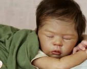 "Order Today For FREE Bonus Preemie! Custom Reborn Babies - LE 1000 SaRyah By Laura Tuzio Ross Full Limbs 18"" 5-7 lbs"