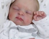 Order Today For FREE Bonus Preemie! Custom Reborn Babies - Emery by Kayla Janell  17 inches 4-6 lbs  Babies  Reborn Baby