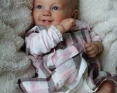 Custom Reborn Babies - Emilia by Ping Lau  20 inches  5-7 lbs  Full arms  full legs