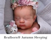CuStOm Realborn® Autumn Sleeping (19 Inches + Full Limbs) *Requires Longer Processing Time.
