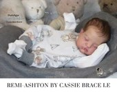 "FREE Bonus Baby!  **Read Item Details** CuStOm ReBoRn BaBy Remi-Ashton by Cassie Brace (20""+Full Limbs) Limited Edition 1K"